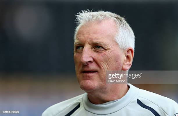 Ronnie Moore of Tranmere Rovers looks on during the FA Cup with Budweiser Third Round match between Derby County and Tranmere Rovers at Pride Park...