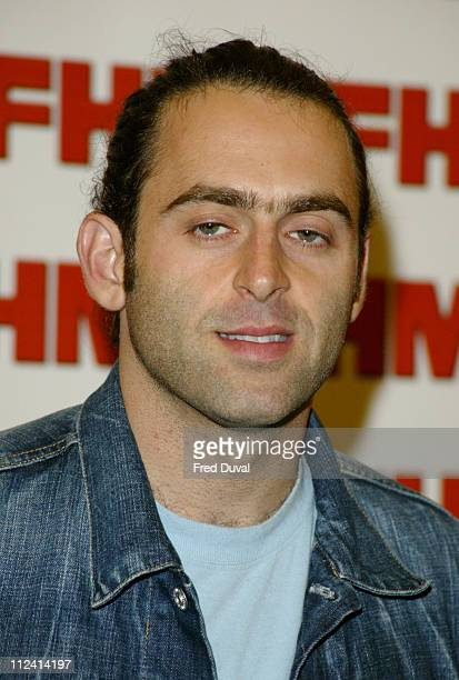Ronnie o Sullivan during FHM Top 100 Sexiest Women 2004 at Guild Hall in London Great Britain