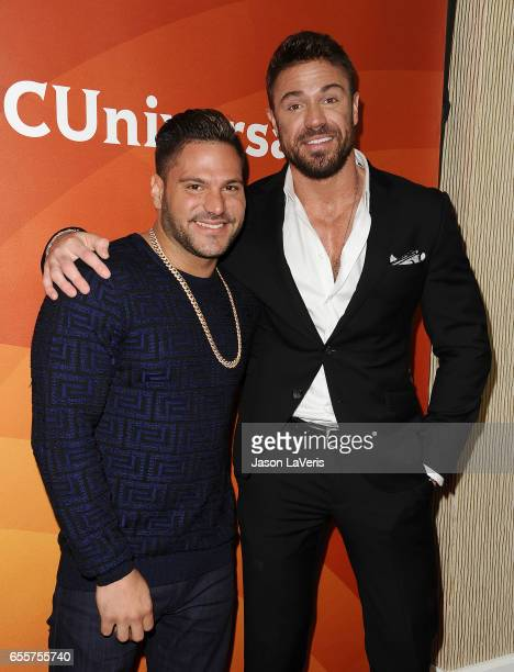 Ronnie OrtizMagro and Chad Johnson attend the 2017 NBCUniversal summer press day The Beverly Hilton Hotel on March 20 2017 in Beverly Hills California