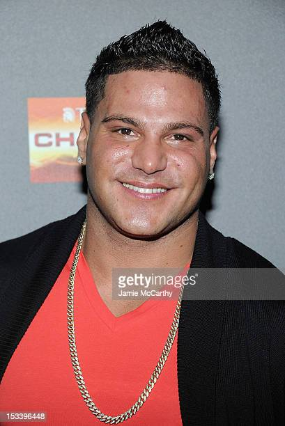 Ronnie OrtizMagro attends the Jersey Shore Final Season Premiere at Bagatelle on October 4 2012 in New York City