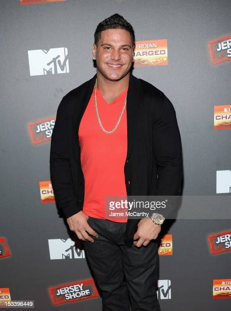 Ronnie OrtizMagro attends the 'Jersey Shore' Final Season Premiere at Bagatelle on October 4 2012 in New York City