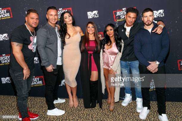 Ronnie Ortiz-Magro, Mike 'The Situation' Sorrentino, Jenni 'JWoww' Farley, Deena Cortese, Nicole 'Snooki' Polizzi, Paul 'Pauly D' DelVecchio, and...