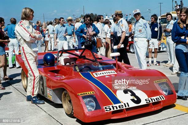 Ronnie Peterson Ferrari 312PB 12 Hours of Sebring Sebring 25 March 1972 Rare appearance of Ronnie Peterson in endurance racing who finished second in...