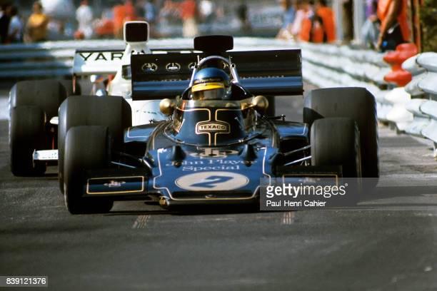 Ronnie Peterson LotusFord 72E Grand Prix of Monaco Monaco 03 June 1973