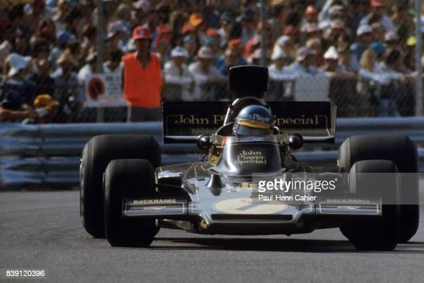 Ronnie Peterson LotusFord 72E Grand Prix of Monaco Monaco 26 May 1974