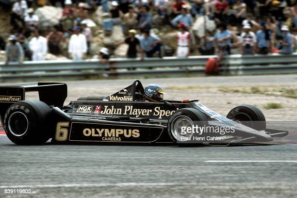 Ronnie Peterson LotusFord 79 Grand Prix of France Paul Ricard 02 July 1978