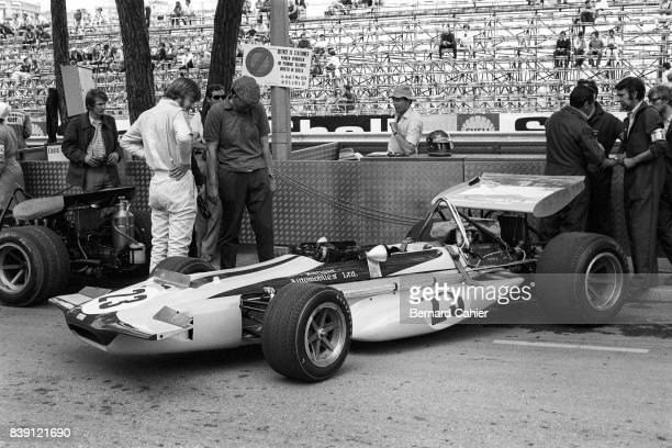 Ronnie Peterson MarchFord 701 Grand Prix of Monaco Monaco 10 May 1970 Monaco Grand Prix 1970 was Ronnie Peterson's debut in Formula One He finished...