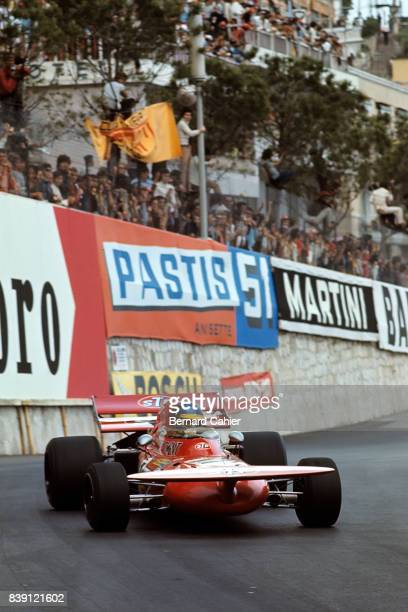 Ronnie Peterson MarchFord 711 Grand Prix of Monaco Monaco 23 May 1971