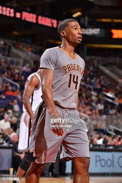 Ronnie Price of the Phoenix Suns during the game against the Brooklyn Nets on February 25 2016 at Talking Stick Resort Arena in Phoenix Arizona NOTE...