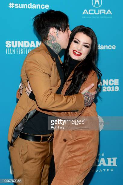 Ronnie Radke and Paige attend the Surprise Screening Of Fighting With My Family during the 2019 Sundance Film Festival at The Ray on January 28 2019...