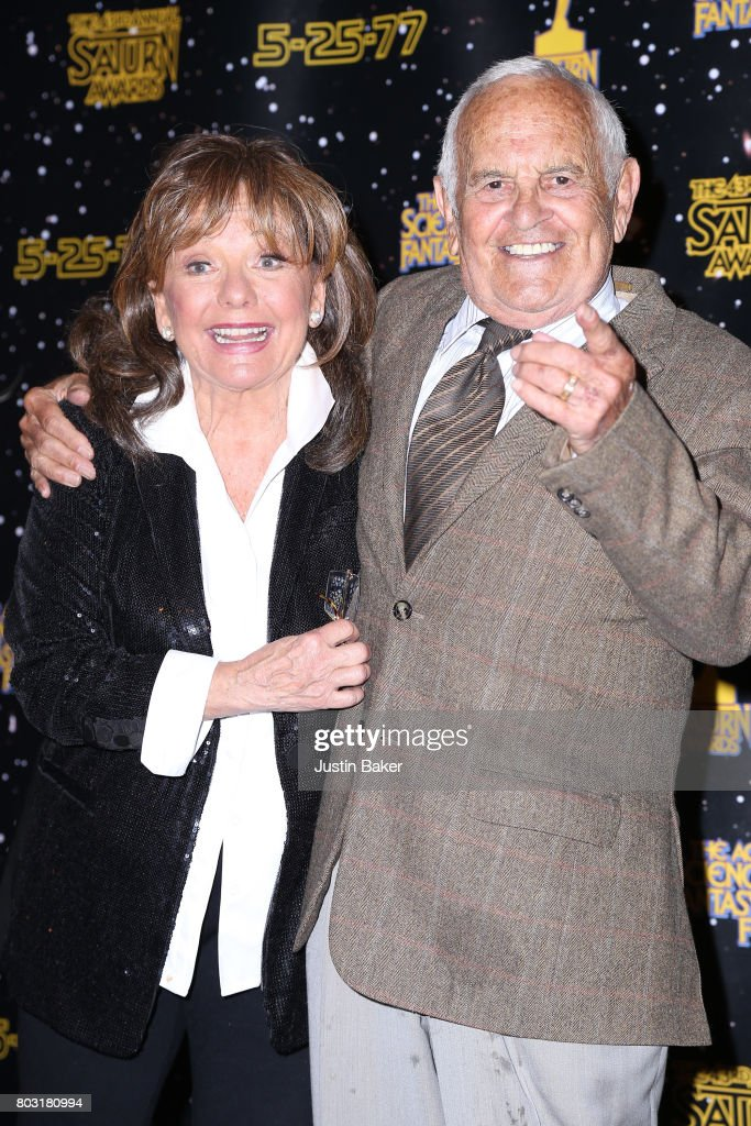Ronnie Schell and Dawn Wells attend the 43rd Annual Saturn Awards at The Castaway on June 28, 2017 in Burbank, California.