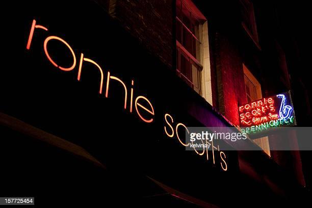 Ronnie Scott's jazz club in London