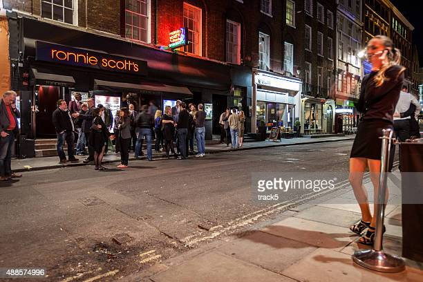 Ronnie Scott's Jazz Club, Soho, London