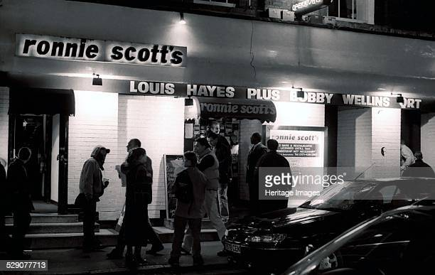 Ronnie Scott's, London, 2001. Image by Brian O'Connor.