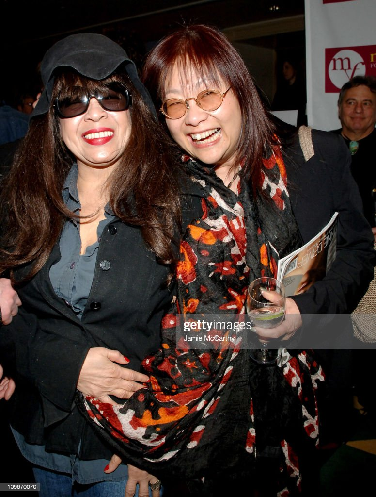 Ronnie Spector and May Pang during Music for Youth Benefit Concert 'Celebrating the Music of Bruce Springsteen' for the UJA-Federation of NY Initiative Program at Carnegie Hall in New York City, New York, United States.