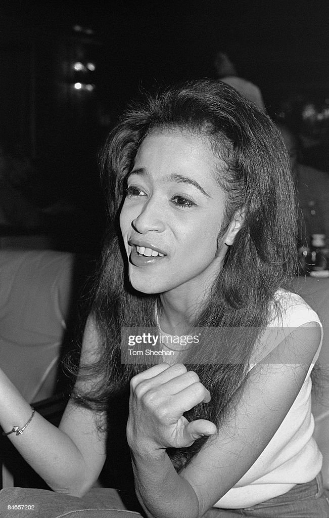 Ronnie Spector in the CBS Records office in Soho Square ...