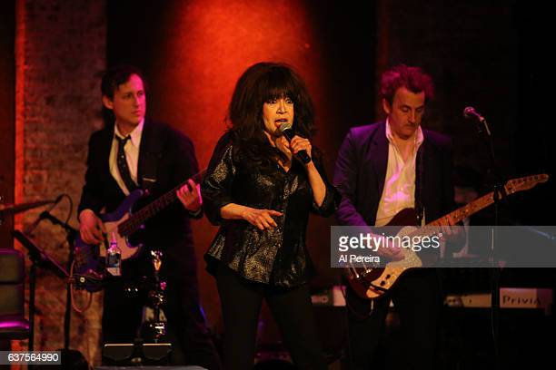 Ronnie Spector performs her Best Christmas Party Ever holiday show at City Winery on December 21 2016 in New York City