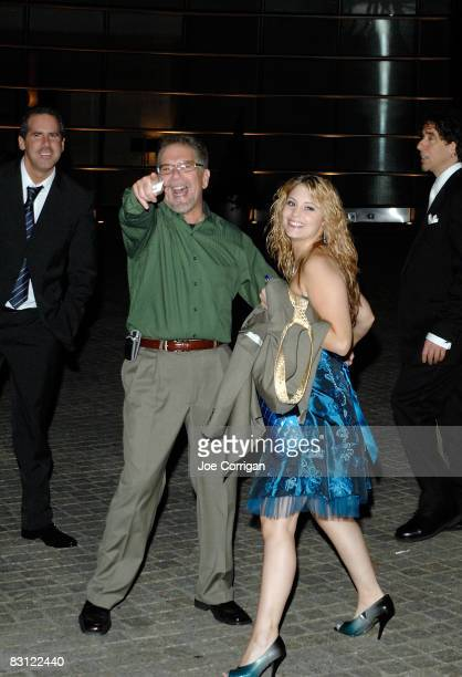 Ronnie the limo driver from the Howard Stern show and guest attend the wedding of Howard Stern and Beth Ostrosky at Le Cirque on October 3 2008 in...