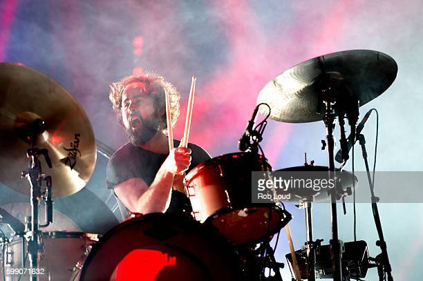 Ronnie Vannucci of The Killers performs at Snowmass on September 3, 2016 in Aspen, Colorado.