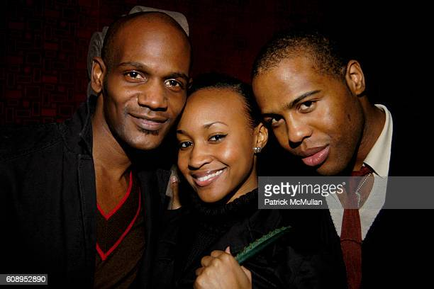 Ronnie Williams, Angel Thomson and William Taswell attend NAVAN invites You to Chill Out With MOBar at MOBar Mandarin Oriental on November 26, 2007...