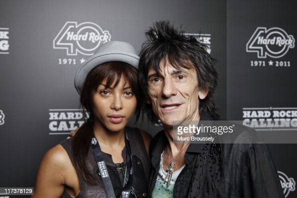 Ronnie Wood SHAG-TREE Dating history relationship tree etc