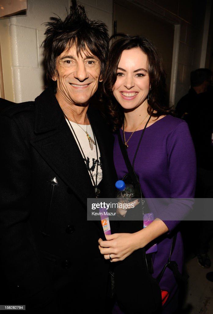 12-12-12 Concert Benefiting The Robin Hood Relief Fund To Aid The victims Of Hurricane Sandy  - Backstage And Audience