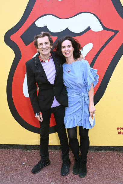 GBR: Ronnie Wood Opens The Music Studios At Community Links In Canning Town
