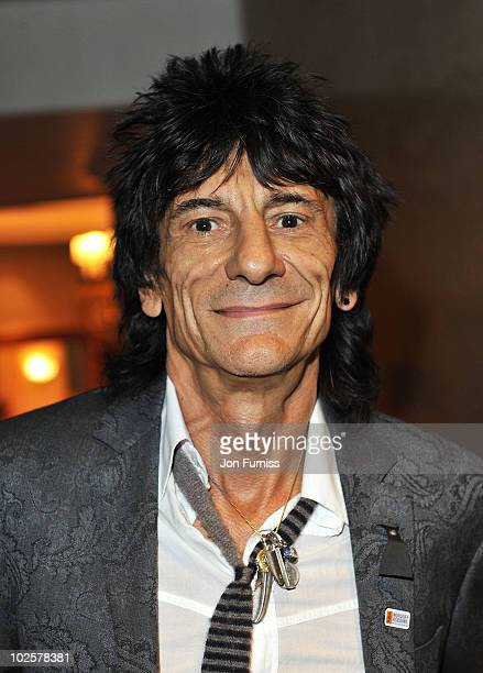 Ronnie Wood attends the 35th Nordoff Robbins 02 Silver Clef Awards at London Hilton on July 2 2010 in London England
