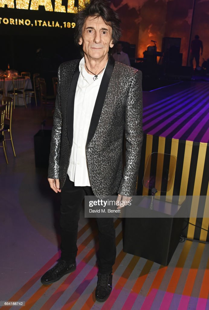 Ronnie Wood attends the Roundhouse Gala at The Roundhouse on March 16, 2017 in London, England.