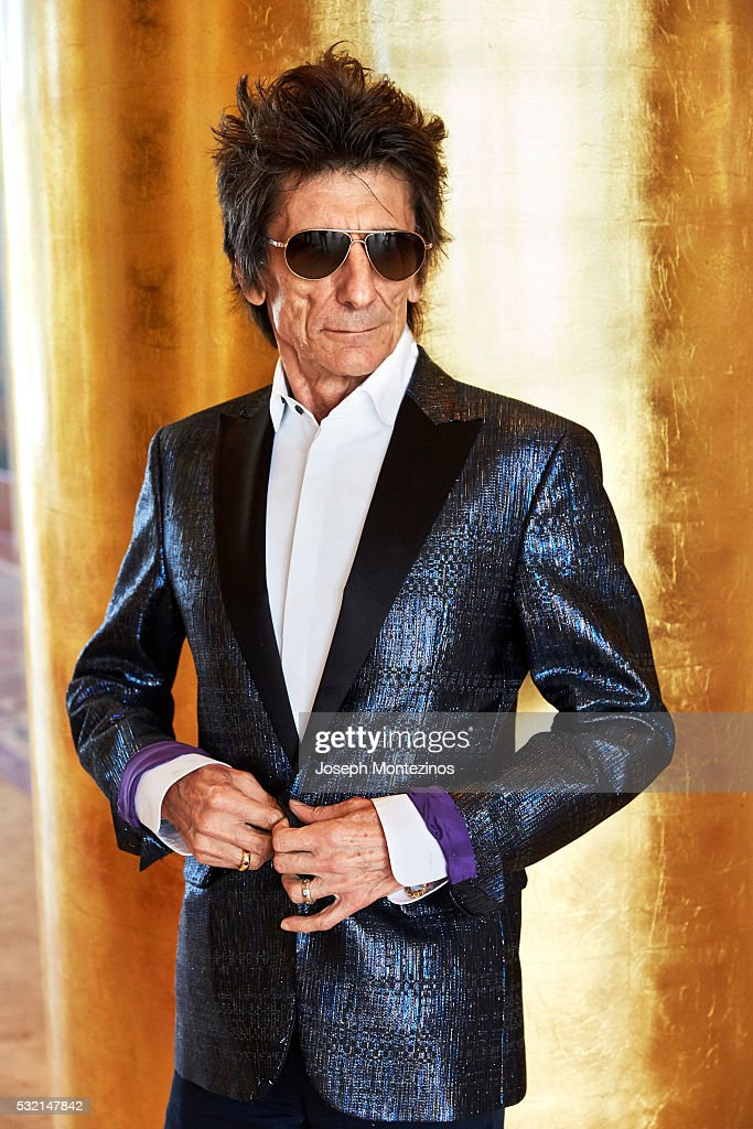 Ronnie Wood is photographed for Hello! UK on March 28, 2016 in Miami, Florida. PUBLISHED