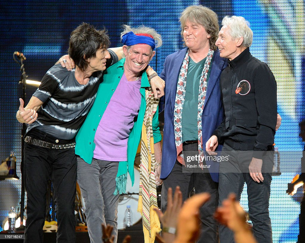 Rolling Stones '50 & Counting' Tour - Los Angeles : News Photo