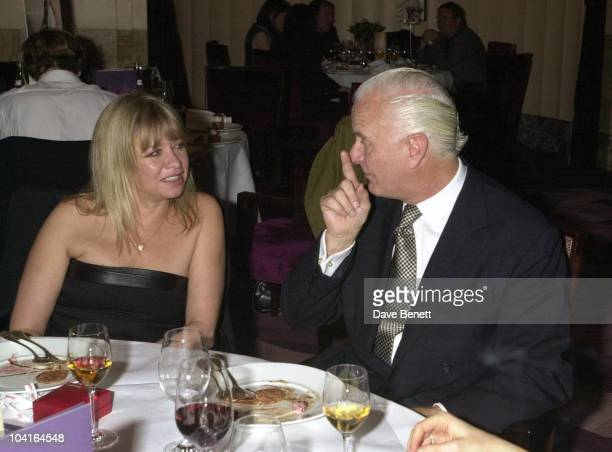 Ronnie Woods Wife Jo Howard Get Some Advice From Manolo Blahnik The Party To Launch David Bailey's New Book Chasing Rainbows hosted By Lucy Yeomans...