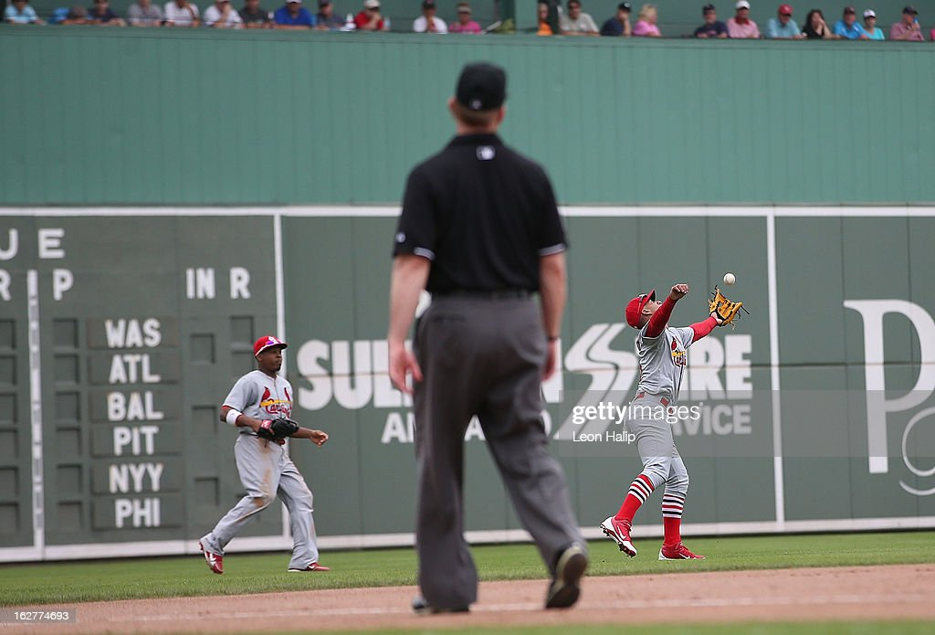 St Louis Cardinals v Boston Red Sox : News Photo