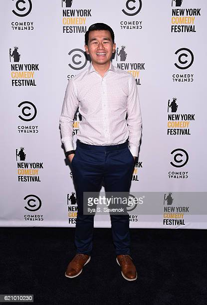 Ronny Chieng attends Comedy Central's New York Comedy Festival KickOff Party Celebration on November 3 2016 in New York City
