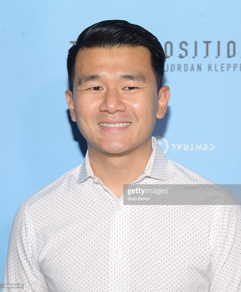 Ronny Chieng attends Comedy Central's 'The Opposition w/ Jordan Klepper' premiere party at The Skylark on October 5, 2017 in New York City.