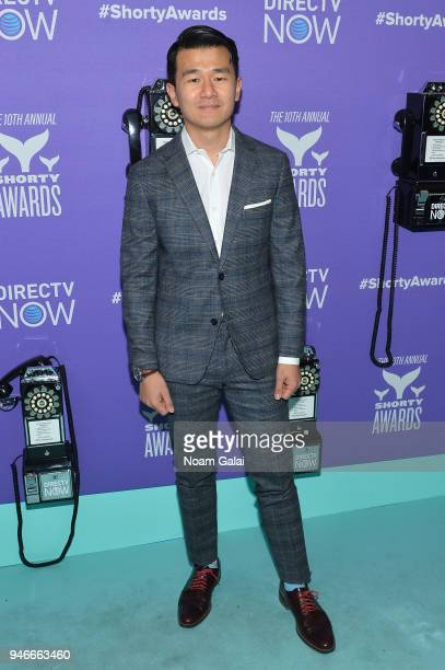 Ronny Chieng attends the 10th Annual Shorty Awards at PlayStation Theater on April 15 2018 in New York City