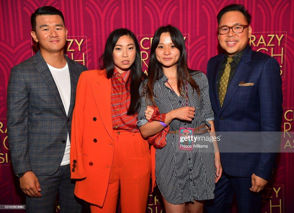 'Crazy Rich Asians' Atlanta Premiere : Photo d'actualité