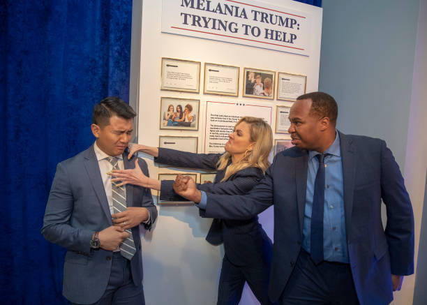 DC: The Daily Show With Trevor Noah Presents: The Donald J. Trump Presidential Twitter Library In Washington D.C. – June 14, 2019