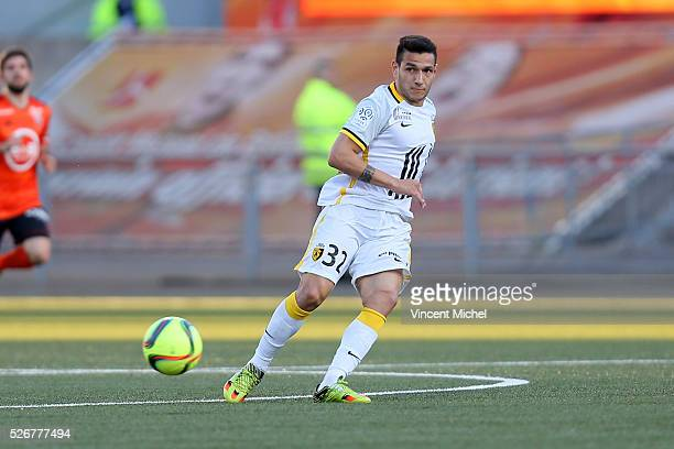 Ronny Lopes of Lille during the French Ligue 1 match between Fc Lorient and Lille OSC at Stade du Moustoir on April 30, 2016 in Lorient, France.