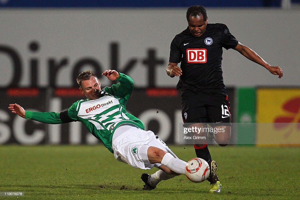 Greuther Fuerth v Hertha BSC Berlin - 2. Bundesliga