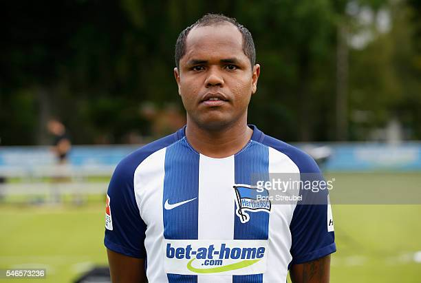 Ronny of Hertha BSC poses during the Hertha BSC Team Presentation on July 12 2016 in Berlin Germany