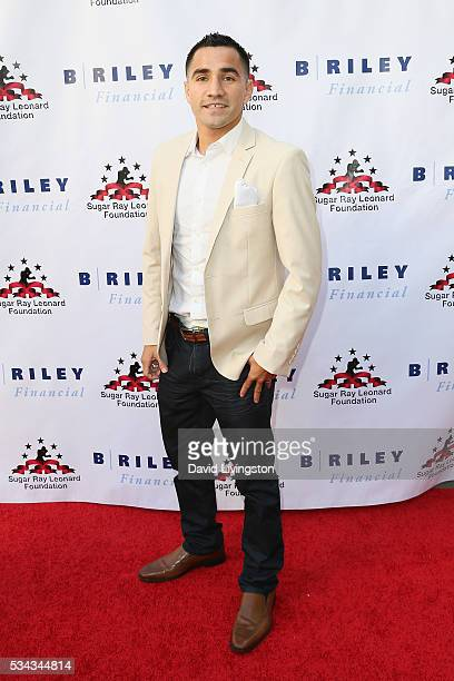 Ronny Rios arrives at the 7th Annual Big Fighters Big Cause Charity Boxing Night Benefiting The Sugar Ray Leonard Foundation at The Ray Dolby...