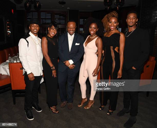 RonReaco Lee Tichina Arnold Satchel Jester Teyonah Parris Erica Ash and Jessie T Usher at Survivor's Remorse x Upscale Magazine 'Champions Table'...