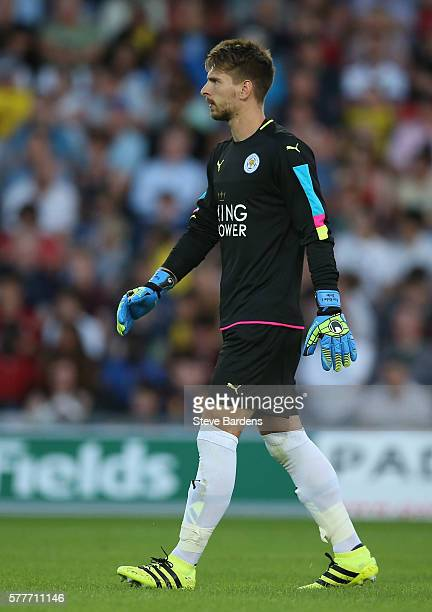 RonRobert Zieler of Leicester City during a preseason friendly between Oxford United and Leicester City at Kassam Stadium on July 19 2016 in Oxford...