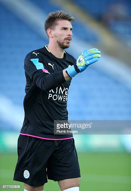 RonRobert Zieler of Leicester City during the pre season friendly between Oxford United and Leicester City at Kassam Stadium on July 19 2016 in...