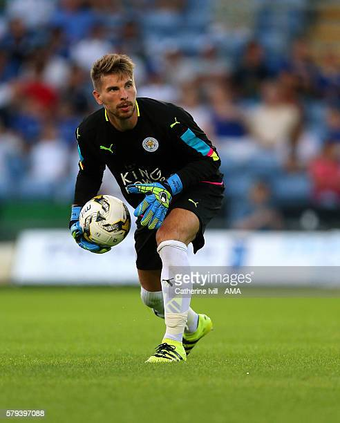 RonRobert Zieler of Leicester City during the PreSeason Friendly match between Oxford United and Leicester City at Kassam Stadium on July 19 2016 in...