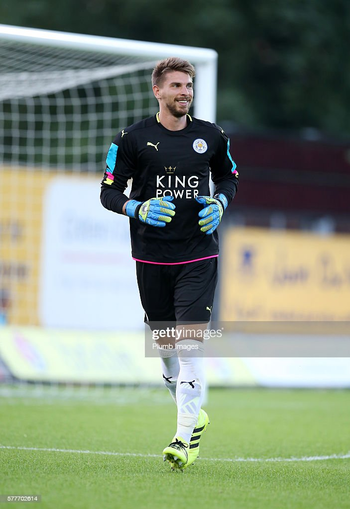 Ron-Robert Zieler of Leicester City in action during the pre season friendly between Oxford United and Leicester City at Kassam Stadium on July 19 , 2016 in Oxford, United Kingdom.