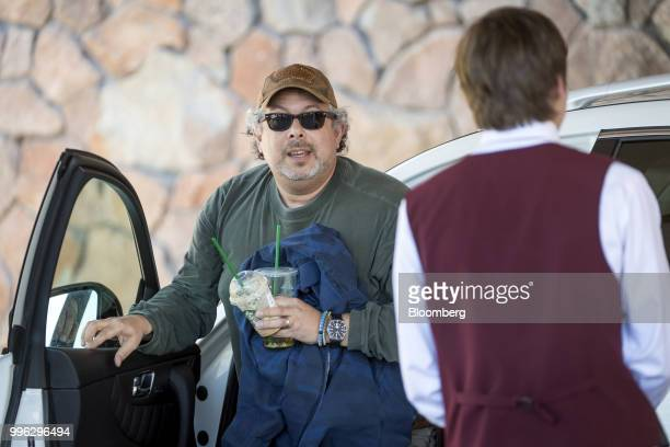 Rony Abovitz founder and chief executive officer of Magic Leap Inc arrives for the Allen Co Media and Technology Conference in Sun Valley Idaho US on...