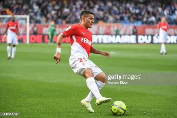 Rony Lopes of Monaco during the Ligue 1 match between Troyes AC and AS Monaco at Stade de l'Aube on May 19 2018 in Troyes