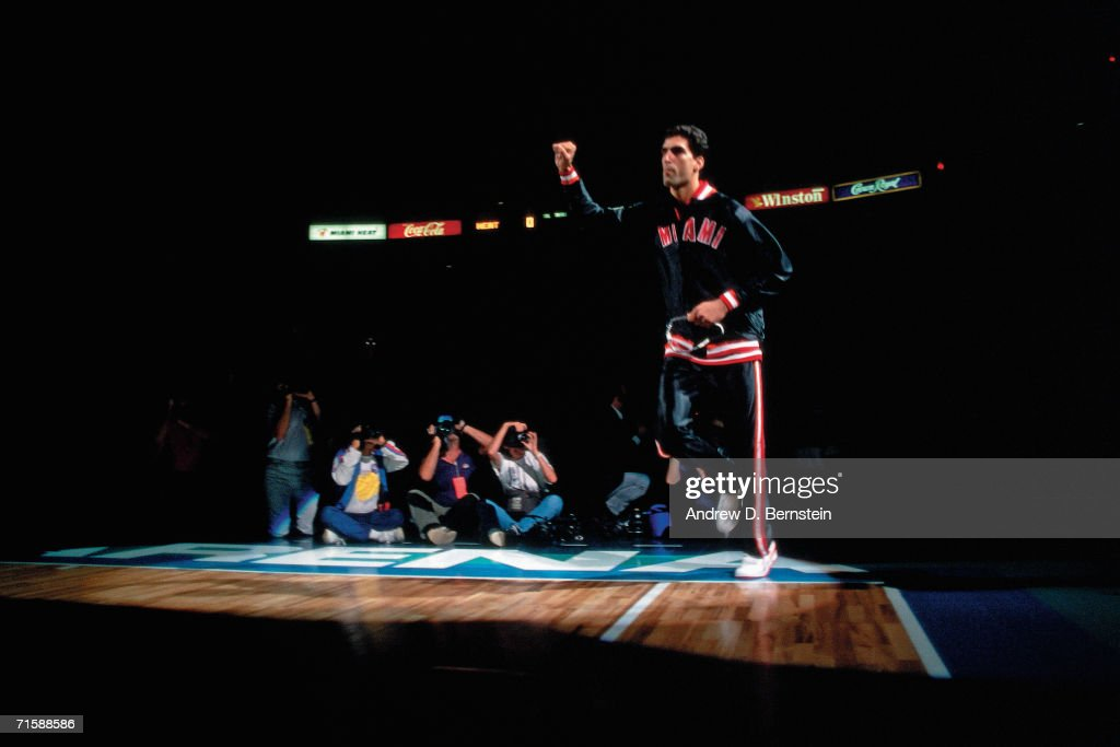 Miami Heat 1988 First Ever Home Game : News Photo